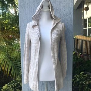 GAP Hooded Open Front Cardigan